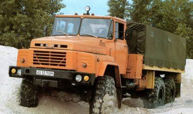 описание автомобиля КрАЗ-260, его основные технические характеристики
