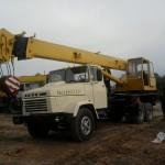 автомобильный кран на базе КрАЗ-250