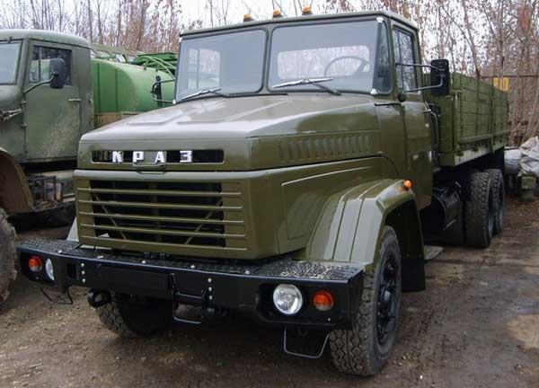 грузовой автомобиль КрАЗ-250