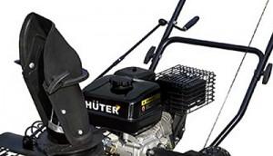 вместимость бензинового бака снегоуборщика Хутер 3000