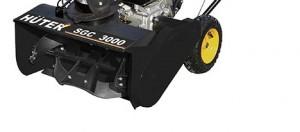 описание одноступенчатой системы очистки в снегоочистителе Хутер 3000 модели