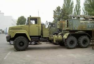 грузовой автомобиль КрАЗ-260 В