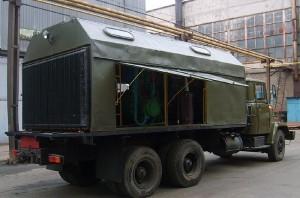 компрессорная станция на базе КрАЗ-250