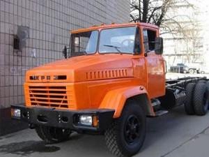 шасси грузового автомобиля КрАЗ-250