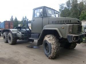 некоторые особенности шасси КрАЗа-260