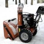 особенности снегоуборочных машины Хускварна