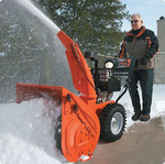 особенности снегоуборочной техники Калибр, правила ее эксплуатации