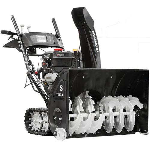 основные особенности снегоуборочных машин Хендай