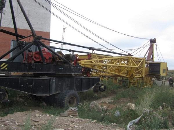 особенности строения башенного крана КБ-405 1А