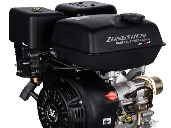 двигатель снегоуборщика, модель ZongShen 188FE OHV