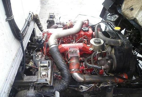 особенности двигателя, устанавливаемого на ФАВ 1041