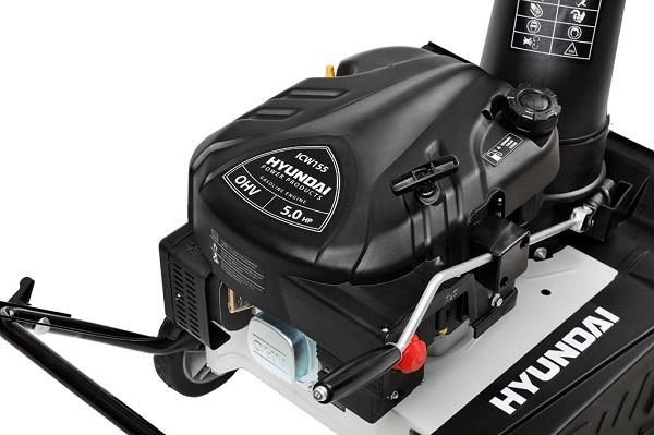 особенности двигателя снегоуборщика Хендай С 5050