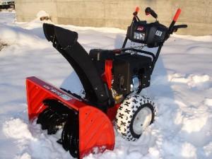 основные правила первого запуска снегоочистителя МТД МЕ 76