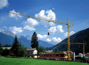 рабочие параметры башенного крана Либхер