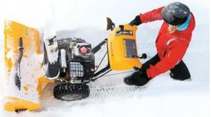 нюансы управления снегоочистителем snow fox stiga