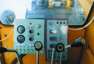 функциональная панель управления краном КС 45717