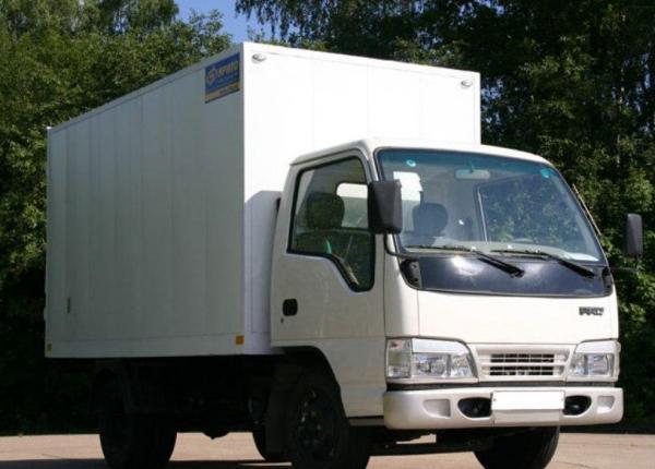 грузовой фургон ФАВ 1041 модели