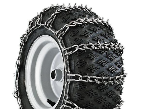 цепи на колеса снегоочистителя МТД
