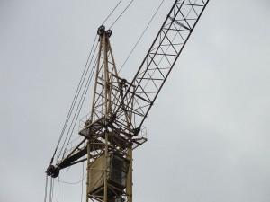 башня и верхняя часть башенного крана КБ-405 1А