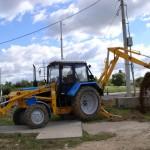 эксплуатация МТЗ-892 коммунальными службами