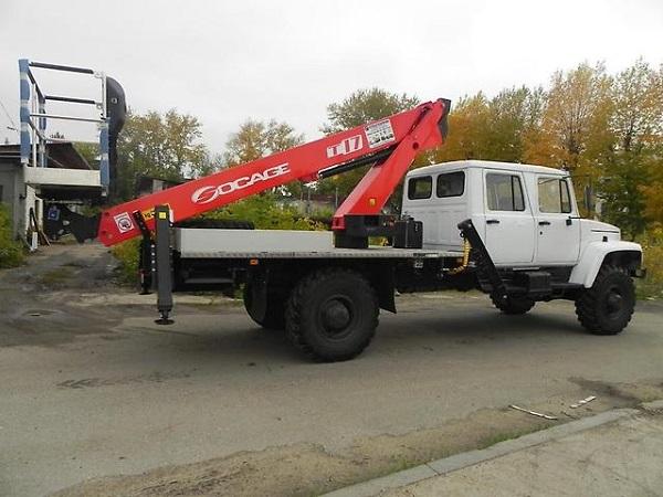 автогидроподъемник на базе ГАЗ-33081