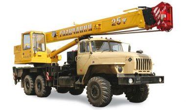 особенности использования автокрана Галичанин 25 тонн