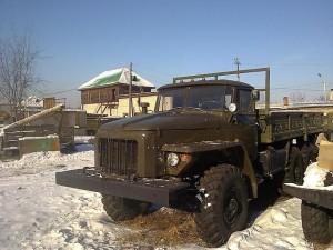 бортовой автомобиль Урал 375-ой модели