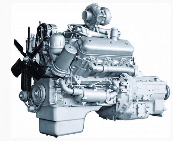 двигатель ЯМЗ-236, устанавливаемый на Урал-4320