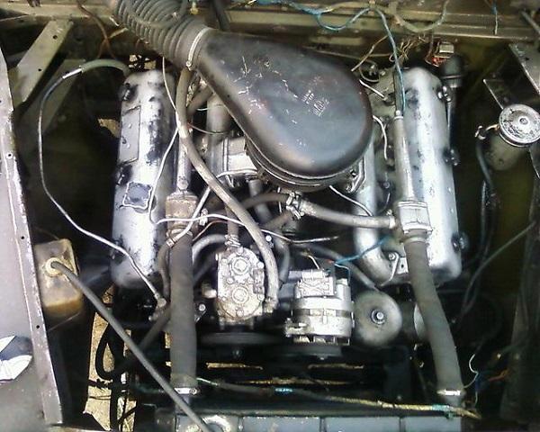 двигатель, устанавливаемый на Урал-375 Д