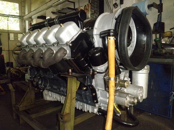 характеристики двигателя, используемого в самосвале Татра 815