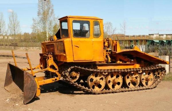 трелевочный трактор ТДТ-55 и его технические характеристики