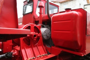 особенности ТС трактора ТДТ-55, его топливный бак