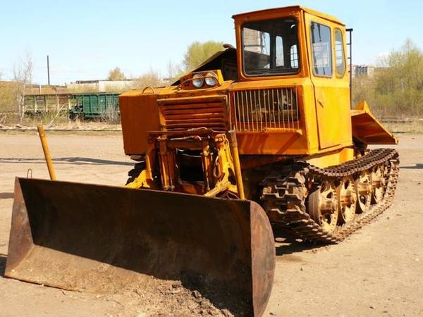 описание трелевочного трактора ТДТ-40