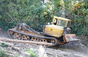 эксплуатация трелевочного трактора на лесозаготовительных работах