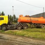 цистерна на базе автомобиля КамАЗ-65116-62