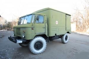 использование ГАЗ-66 в военной сфере, установка на его шасси ДДА-2