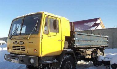 какими техническими характеристиками обладает грузовой автомобиль КАЗ-4540
