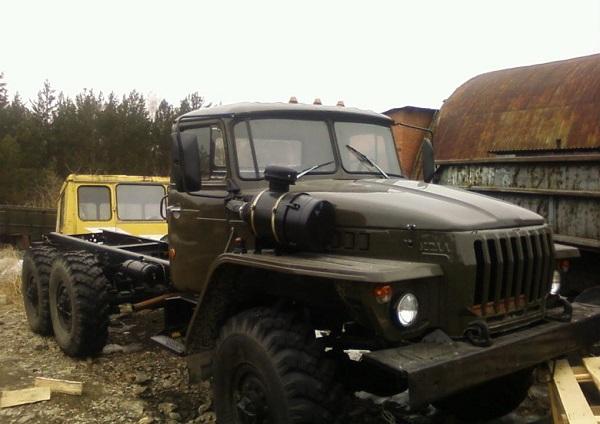 технические характеристики грузового автомобиля Урал-5557