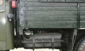 бак для топлива грузового автомобиля ГАЗ-53
