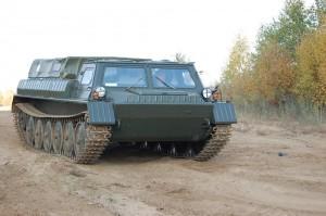болотоход гусеничный, модель - ГАЗ-34039-22