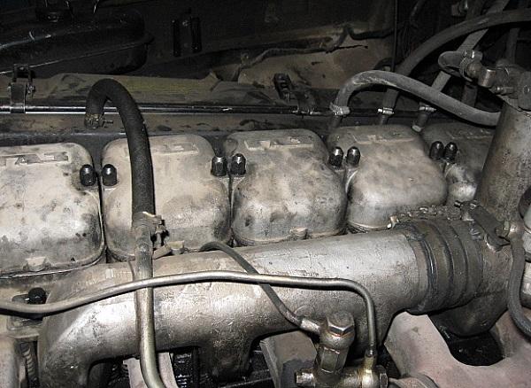 двигатель ГАЗ-542, работающий на дизельном топливе