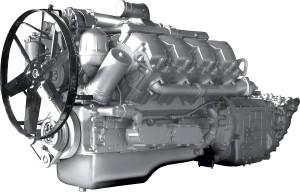 двигатель марки ЯМЗ-7511, устанавливаемый на Урал-6464