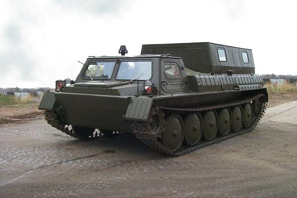 снегоболотоход ГАЗ-34039 и его технические характеристики