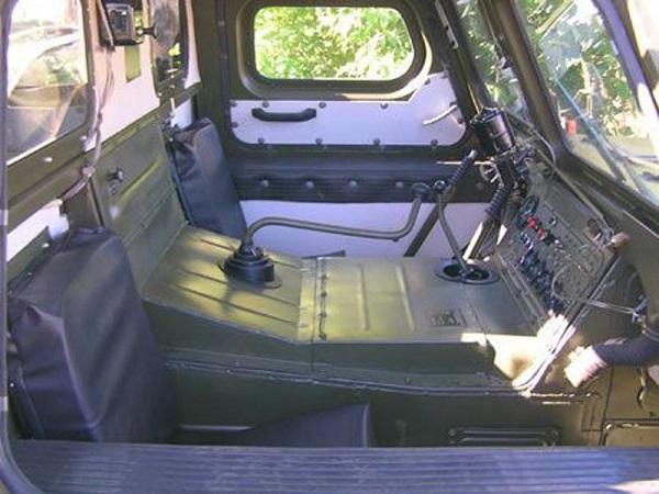 особенности устройства кабины ГАЗ-34039 изнутри