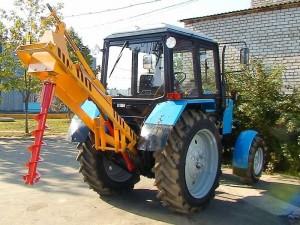 описание конструкции трактора МТЗ