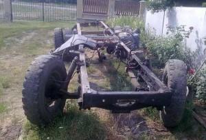 особенности конструкции рамы ГАЗ-4301