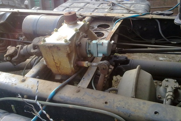 раздатка автомобиля ГАЗ-66