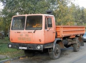 какими особенностями обладает самосвал КАЗ-4540