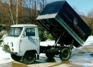 УАЗ-2923 с самосвальной платформой