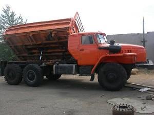 характеристики самосвала Урал-5557